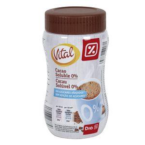 DIA VITAL cacao soluble 0% azúcares bote 325 gr