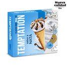 DIA TEMPTATION helado cono sabor nata caja 6 uds 408 gr