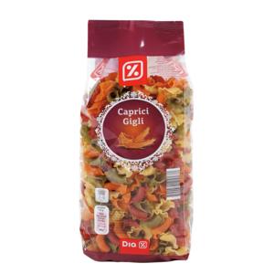 DIA pasta caprici gigli colores paquete 400 gr