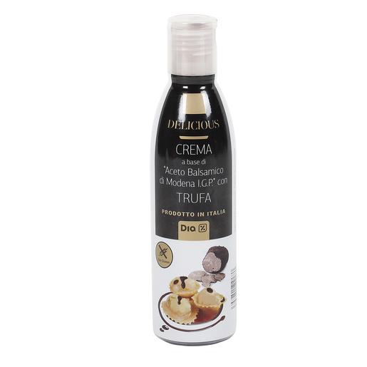 DIA DELICIOUS crema vinagre de modena con trufa bote 250 ml