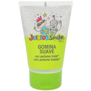 JUNIORSMILE gel fijador infantil suave aroma frutal tubo 125 ml