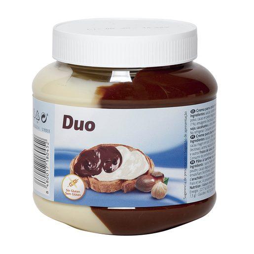 Crema de cacao duo frasco 750 gr