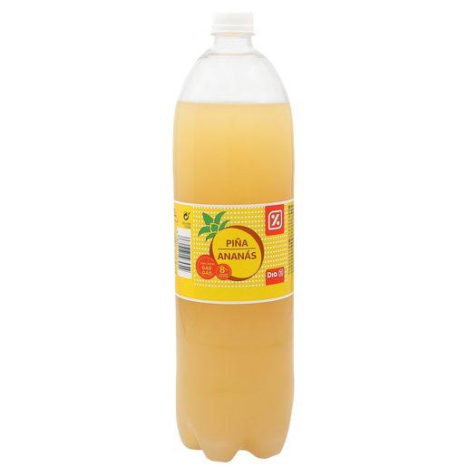 DIA refresco de piña con gas botella 1.5 lt