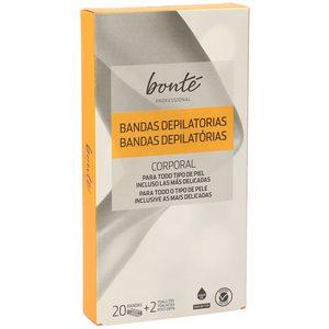 BONTE bandas depilatorias corporal caja 20 uds
