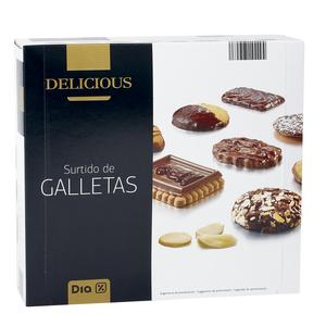 DIA DELICIOUS surtido de galletas caja 500 gr