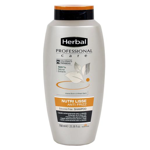 HERBAL Professional care champú nutri lisse antiencrespamiento bote 750 ml