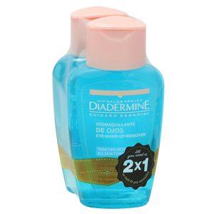 DIADERMINE desmaquillador de ojos respeta el ph de la piel botella 125 ml