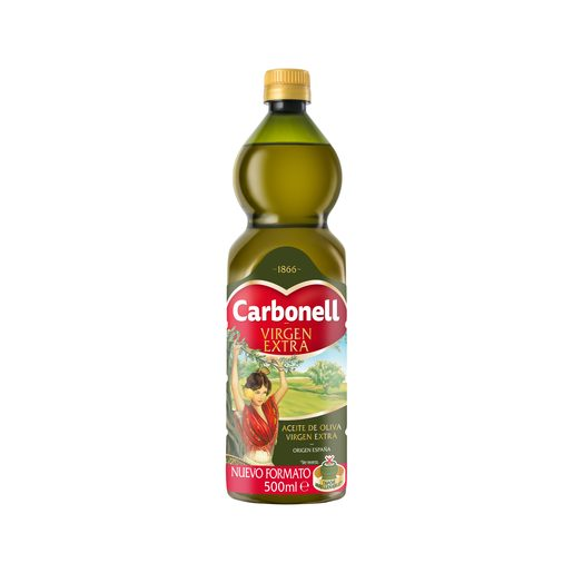 CARBONELL aceite de oliva virgen extra botella 500 ml