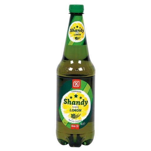 DIA Shandy cerveza sabor limón botella 1 lt