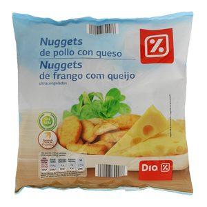 DIA nuggets pollo y queso bolsa 500 gr