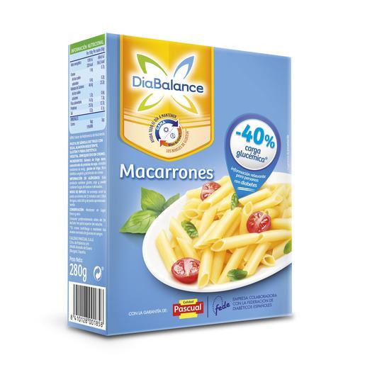 PASCUAL diabalance macarrones paquete 280 gr