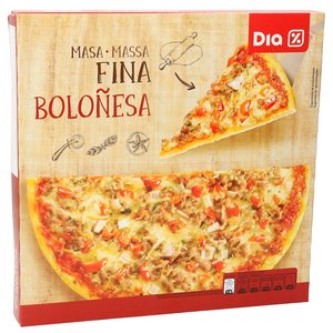 DIA pizza boloñesa caja 375 gr