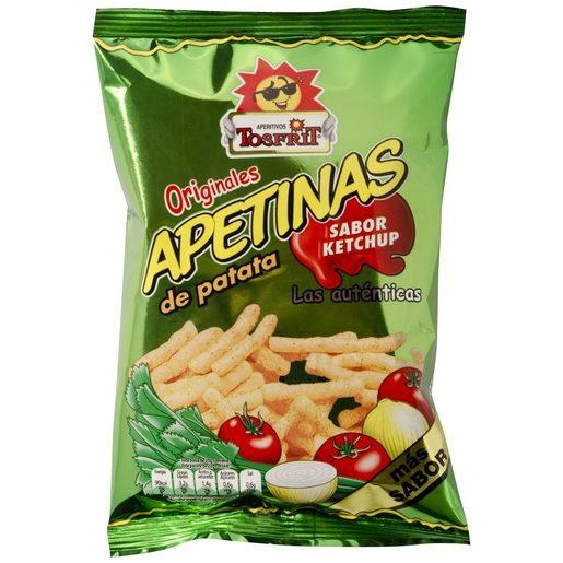 TOSFRIT apetinas ketchup bolsa 20GRS