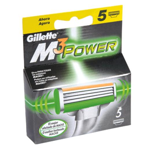 GILLETTE M3 power maquinilla de afeitar blíster 5 uds