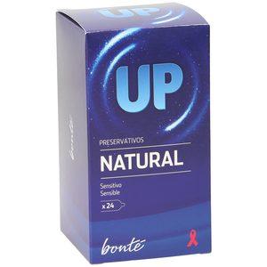BONTE preservativos up natural sensitive caja 24 uds