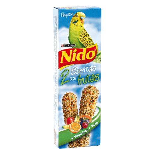 NIDO barritas con frutas para periquitos caja 2 uds