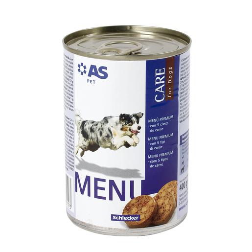 AS alimento para perros 5 carnes 400 gr