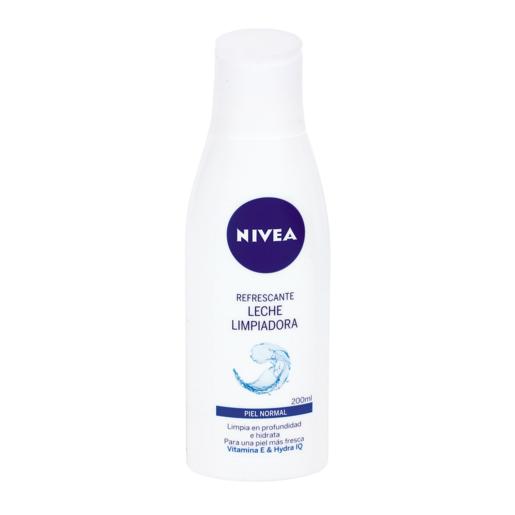 NIVEA leche limpiadora refrescante pieles normales botella 200 ml
