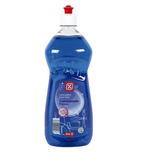 DIA lavavajillas mano concentrado antibacterias botella 1 lt