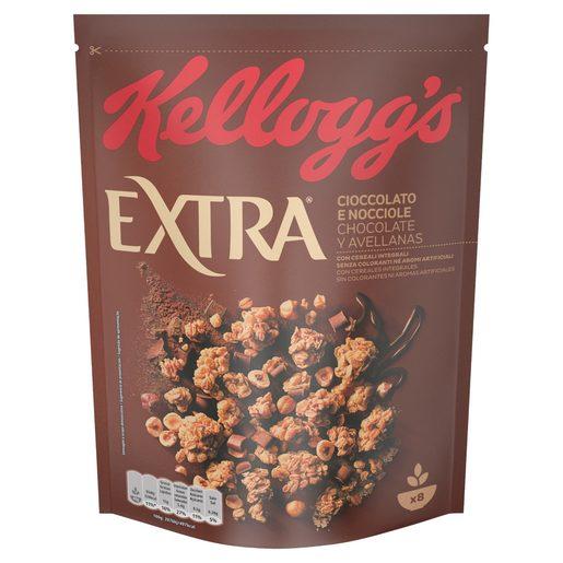 KELLOGGS cereales extra chocolate caja 375 gr