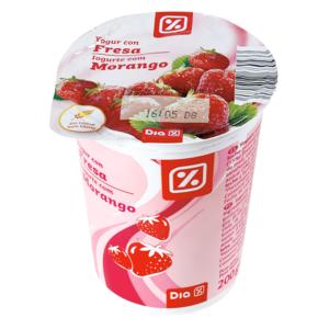 DIA yogur con fresa vaso 200 gr