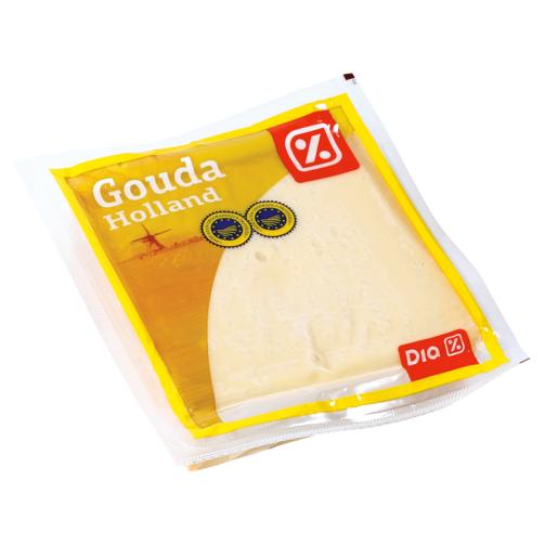 DIA queso gouda pieza cuña 500 g