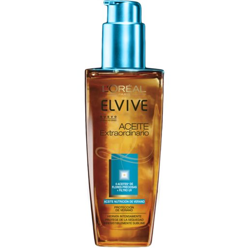 ELVIVE aceite extraordinario nutrición de verano spray 100 ml