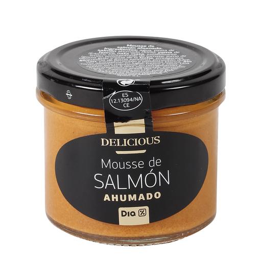 DIA DELICIOUS mousse de salmón ahumado tarro 110 gr