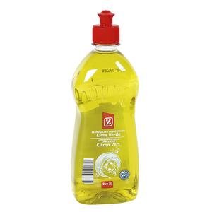 DIA lavavajillas mano concentrado lima verde botella 500 ml