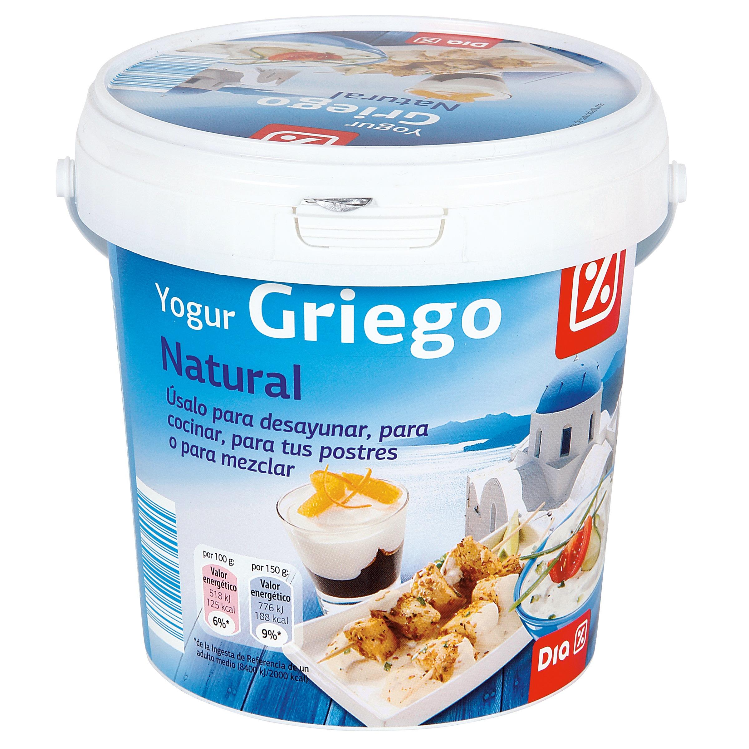 dia yogur griego natural 1 kg yogur griego