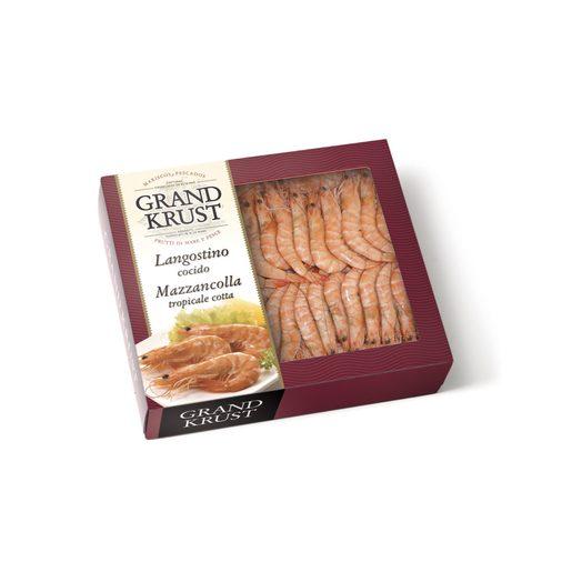 GRAND KRUST langostino cocido 32/48 piezas caja 720 gr