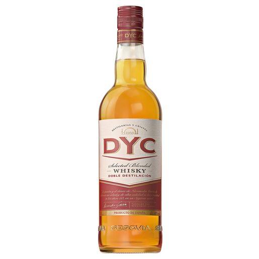 DYC whisky nacional botella 1 lt