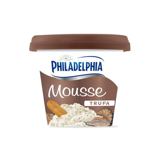 PHILADELPHIA mousse de queso trufa tarrina 140 gr
