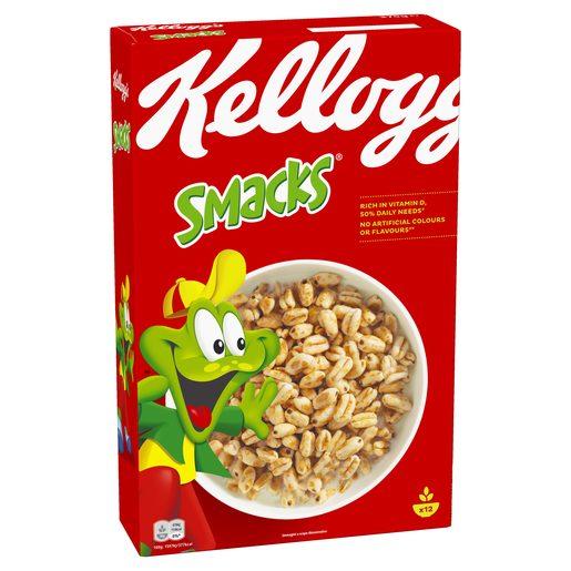KELLOGGS cereales smacks caja 450 gr