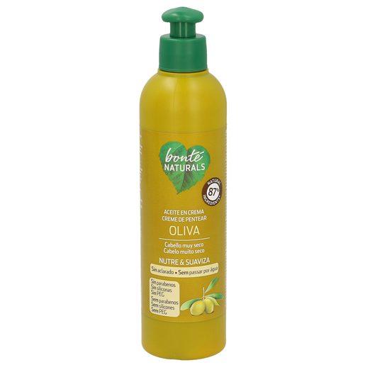 BONTE aceite en crema oliva cabellos secos bote 200 ml
