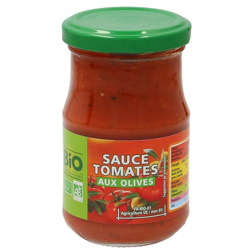 CASINO BIO salsa de tomate con aceite de oliva frasco 200 gr
