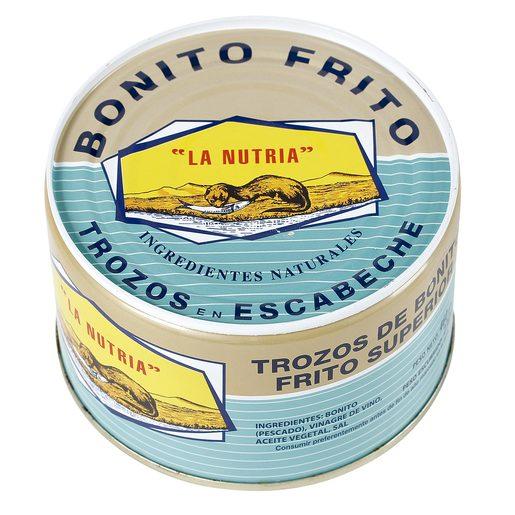 LA NUTRIA trozos de bonito del norte en escabeche lata 230 gr