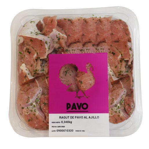 Ragut de pavo al ajillo (peso aprox. 380 gr)