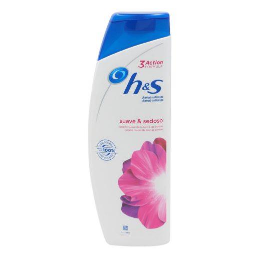 HS champú anticaspa suave y sedoso cabello seco/dañado bote 360 ml