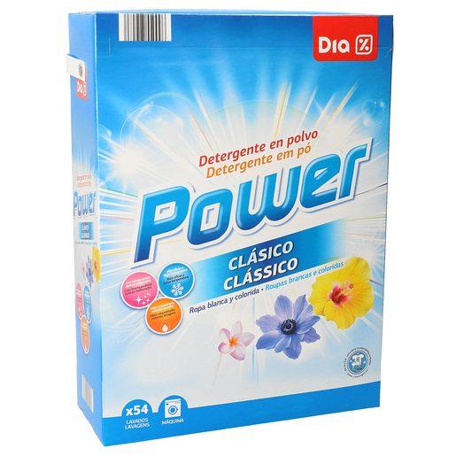 DIA detergente máquina polvo maleta 54 cacitos