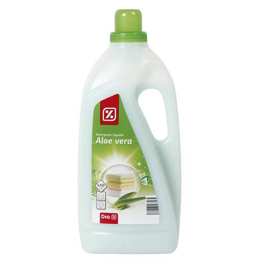 DIA detergente máquina líquido aloe vera botella 40 lv