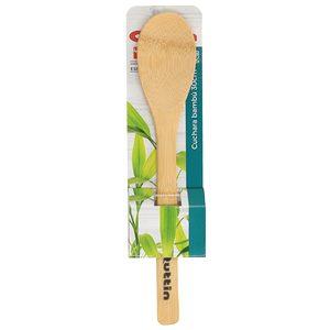 QUTIN cuchara de madera de bambú 30 cm