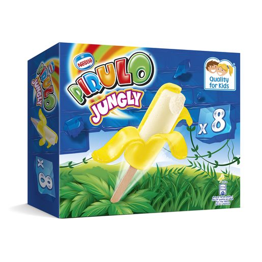 NESTLE helado pirulo jungly caja 360 ml