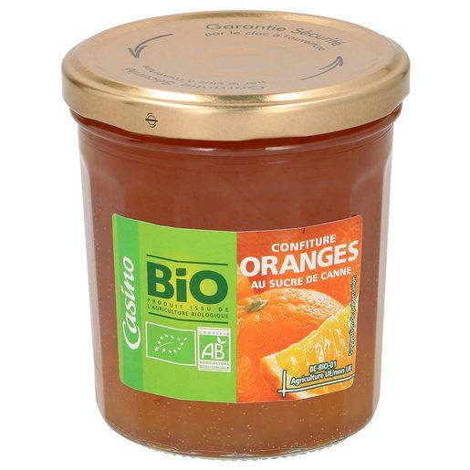 CASINO BIO mermelada de naranja frasco 360 gr
