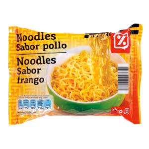 DIA noodles sabor pollo bolsa bolsa 85 gr