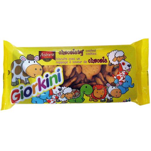 ASINEZ galleta cubierta de chocolate giorkini paquete 105 gr