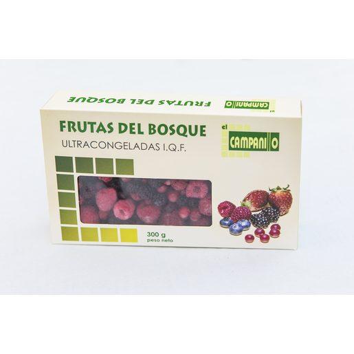 EL CAMPANILLO frutas del bosque caja 300 gr