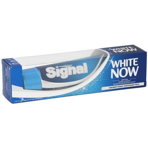 SIGNAL pasta dentífrica white now tubo 75 ml