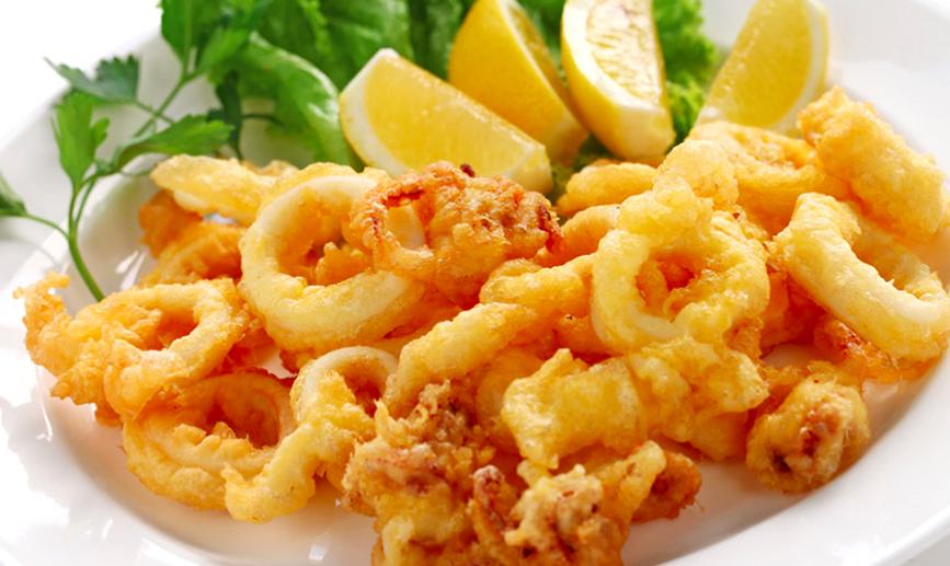 Ricos, ricos, calamares fritos