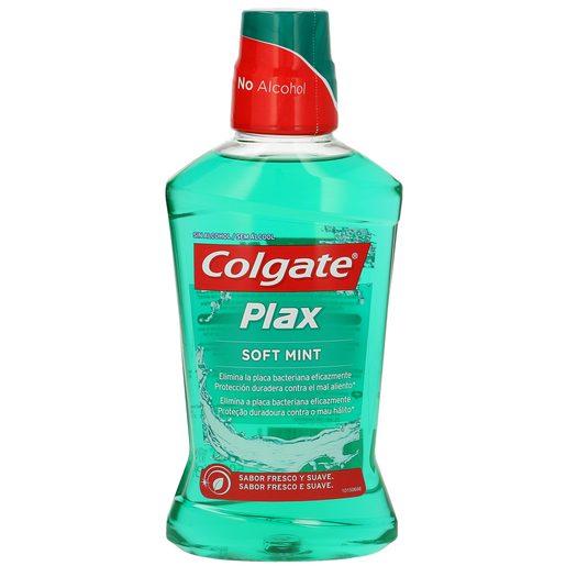 COLGATE PLAX enjuague bucal multiprotección botella 500ml